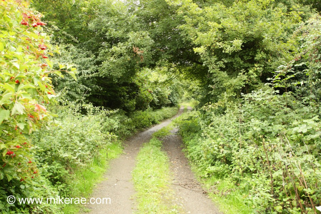 Bridleway at Wyken Hall